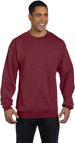 Heather nbsp;sweat nbsp;– nbsp;– Col Rond shirt Rouge Champion nbsp;s600 Maroon z5wgF