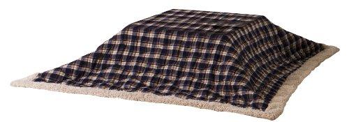 Azumaya Thin Colcha futon Square Check kk-103bl