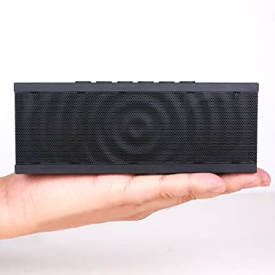 Koomus Ursus Wave Portable Wireless Bluetooth Speaker with Siri Technology, Strong Base and Premium Quality Sound (Black)