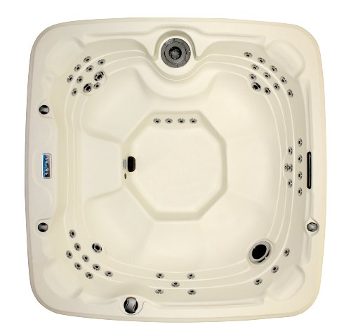 LifeSmart 600DX 7-Person Rock Solid Spa with 65 Jets and Free Super Energy Saving Value Package