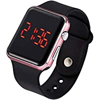 JIAYOUSHENG Digital Sports Waterproof Smart Watch (Rose Gold)