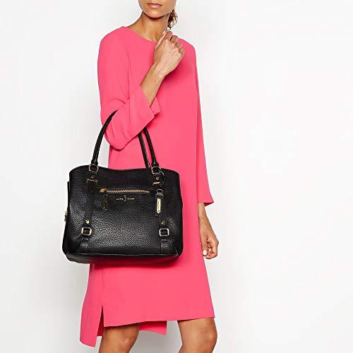 Jasper Womens Detail Bag Black Conran Shoulder By J Zip AOq5t