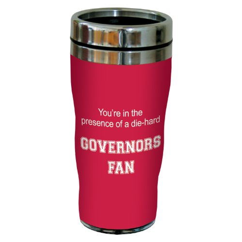 Tree-Free Greetings sg24636 Governors College Basketball Sip 'N Go Stainless Steel Lined Travel Tumbler, 16 Ounce ()