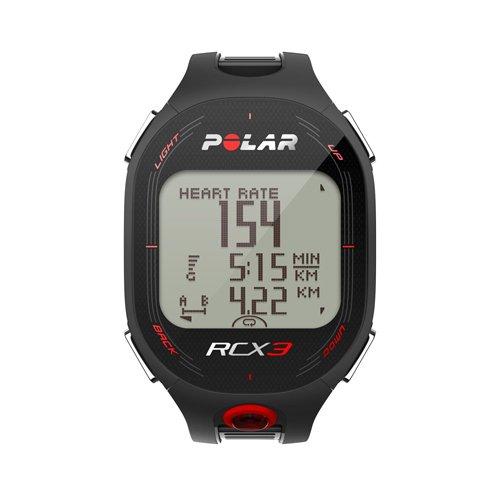 Polar RCX3M Sports Watch with Smart Coaching - Black
