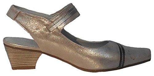 de Lisa Zapatos Piel Mujer Vestir de Dorking 50y6qA