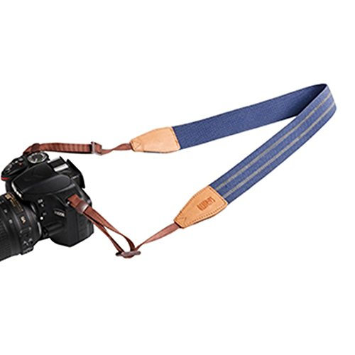 Safrotto Camera Shoulder Straps for Any Digital and SLR Camera SC800 (blue, One_Size)
