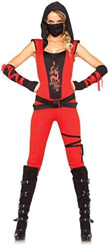 Leg Avenue 85384 - Disfraz de Mujer Ninja Assassin: Amazon.es ...