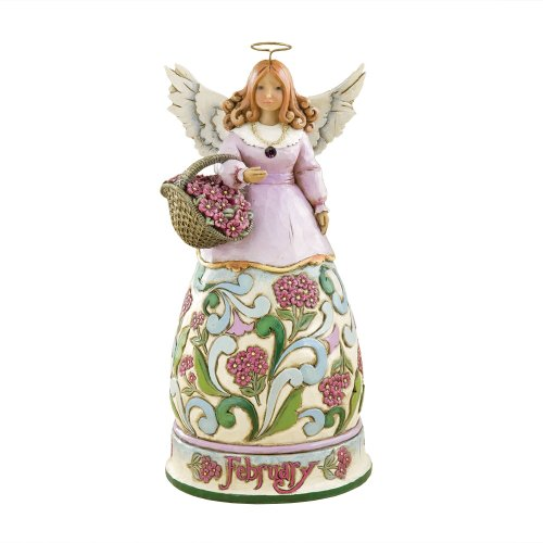 Heartwood Monthly Figurine February 4 Inch