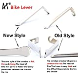 DMLNN Premium Bicycle Tire Lever Tyre Spoon Iron