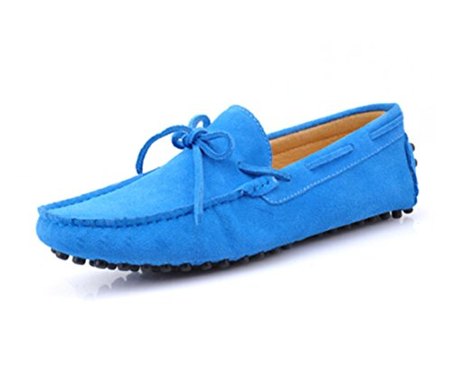 3207a1a8be6 HAPPYSHOP(TM) Mens Loafers Shoes Casual Suede Comfort Slip-on Tassel  Loafers Driving Shoes (EUR 45