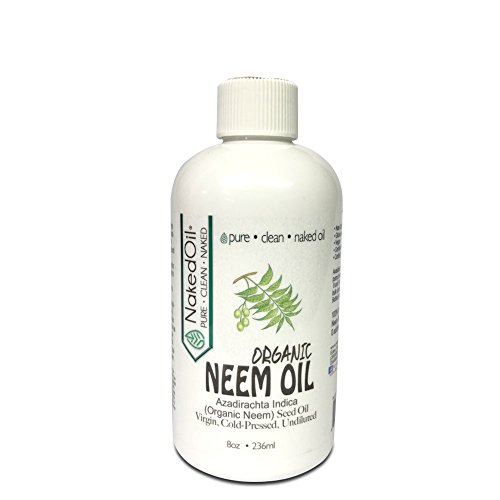 Organic Neem Oil (8 oz), 100% Pure Cold Press, Unrefined - 6 Sizes, Best Prices