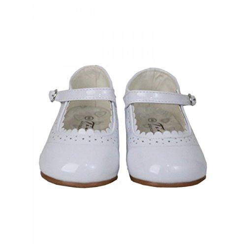 Mädchen Mary Jane Schuhe für Feierliche Anlässe in Verschiedene Farben Weiß