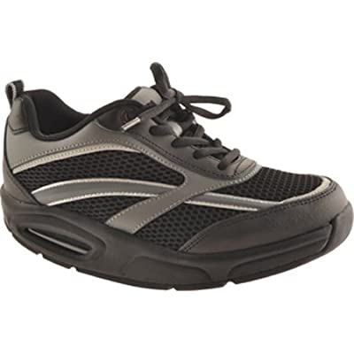 Ryn Men's X-Run Black Athletic Shoe | Walking