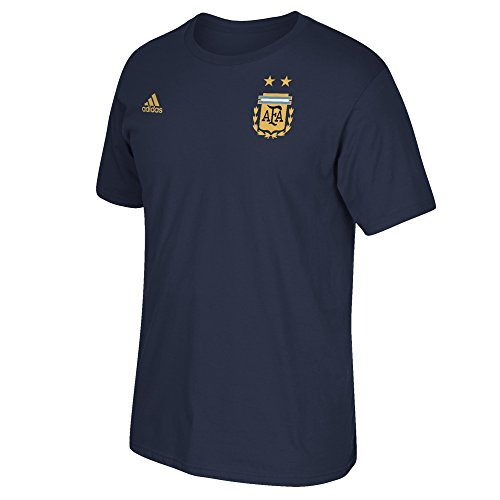 International Soccer Jersey (International Soccer Barcelona Adult Men Global Soccer Jersey Hook S/Tee, Medium, Navy)