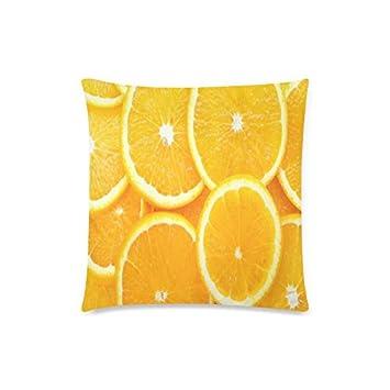 Amazon.com: Fruit Oranges Funda de cojín rectangular para ...
