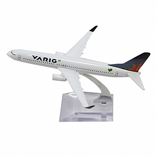 Aohang B737 BRAZIL VARIG Metal Alloy Airplane Model Plane Toy Airways Plane (Brazil Airplane)