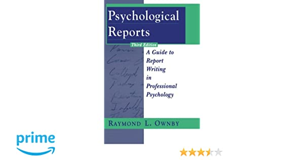 Psychological Report Travel Report Example Warehouseclerk Report