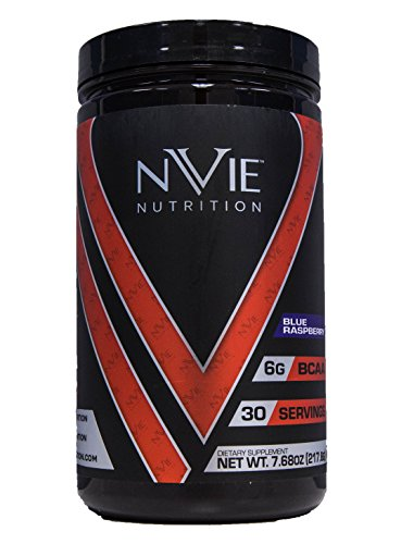 Nvie Nutrition BCAA 2:1:1 Blue Raspberry 7.68 oz