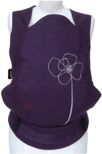 Moby GO Baby Carrier - Blomster - One Size