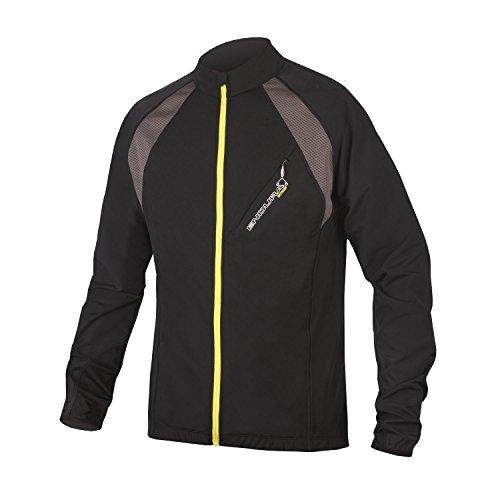 Endura MT500 Full Zip Long Sleeve Cycling Jersey II Black, ()