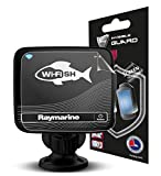 IPG Anti-Glare Compatible RAYMARINE WI-FISH CHIRP SONAR (SC) Fish Finder Invisible Film Screen Protector Guard Cover Free Lifetime Replacement Warranty Bubble -Free