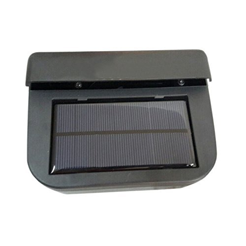 URXTRAL Solar Powered Car Window Windshield Auto Air Vent Cooling Fan System Cooler