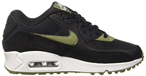 NIKE Donna Max Air Scarpe Palm Green White Nero Mtlc Silver Running Black 90 qr4rBnwX