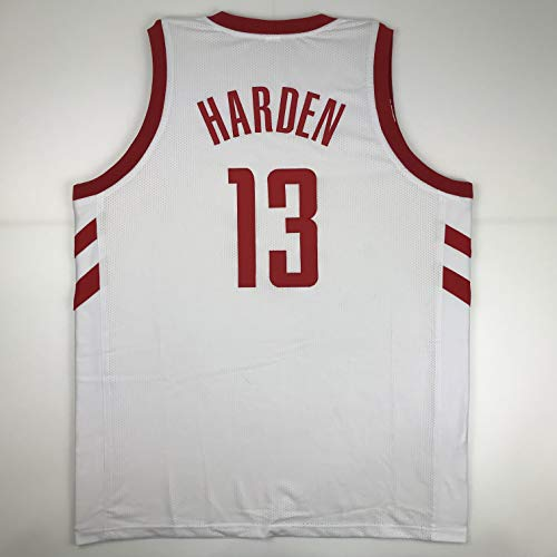 Unsigned James Harden Houston White Custom Stitched Basketball Jersey Size Men's XL New No -