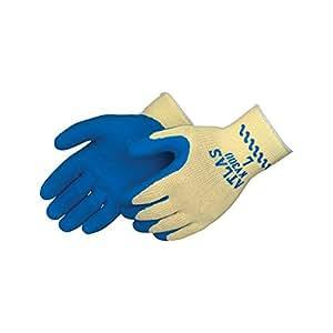 Atlas KV300 tuff-coat kevlar gloves, Large, 1 pair