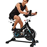 ANCHEER Indoor Cycling Bike, Belt Drive Indoor Exercise Bike with 49LBS Flywheel (Model: ANCHEER-B3008)