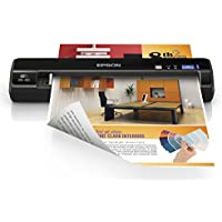 Epson WorkForce DS-40 Wireless Portable Document Scanner for PC and Mac, Sheet-fed, Mobile/Portable (Certified Refurbished)