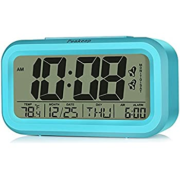 Amazon.com: Dual Alarms, Peakeep Digital Alarm Clock for