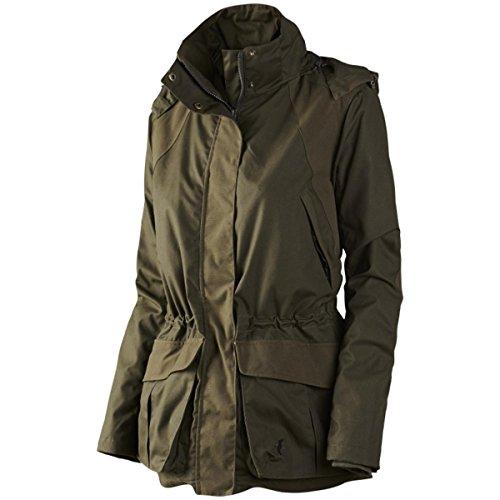 Ventaja no periódica Exeter chaqueta para mujer verde pino