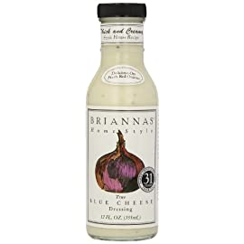 Briannas Home Style Dressings 12 fl oz (355mL) 162 So savory and full of flavor, its a standout on a fresh spinach salad or as a dip for egg rolls and chicken tenders Briannas