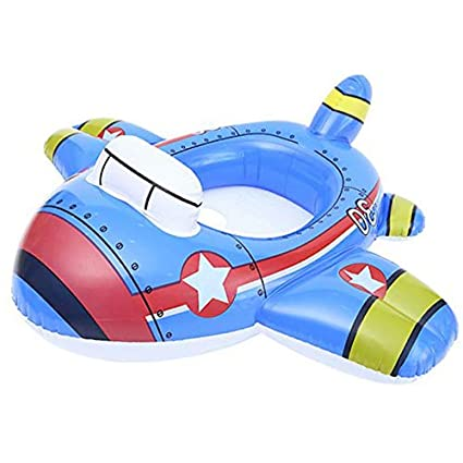 Amazon.com: Verintex Let Me Sit inflable avión piscina paseo ...
