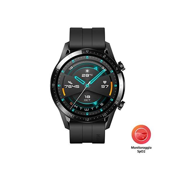 HUAWEI Watch GT 2 Smartwatch 46 mm, Durata Batteria fino a 2 Settimane, GPS, 15 Modalità di Allenamento, Display del… 2