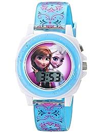 Disney Kids 'fzn3588Frozen Anna y Elsa azul reloj