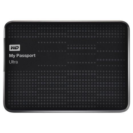 Western Digital My Passport Ultra 1TB USB 3.0 Portable External Hard Drive -Black
