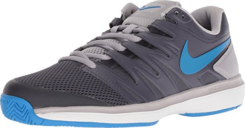 Nike Men's Air Zoom Prestige Tennis Shoes (9.5 D US, Gridiron/Photo Blue/Atmosphere Grey)