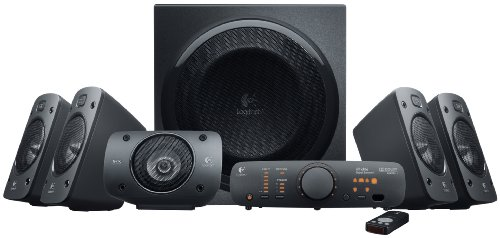 Logitech Z906 500 W 5.1 Channel Speakers
