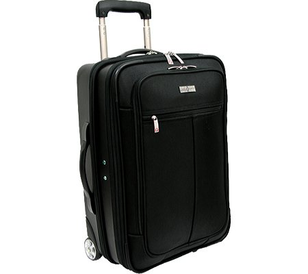 travelers-choice-siena-2-in-1-hybrid-hard-shell-carry-on-wheeled-garment-suitcaseblackone-size