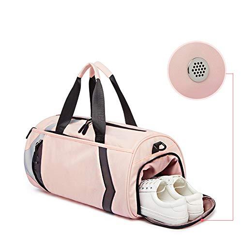 A Palestra Borse Pink Borsetta Separazione Di Tessuto 25cm yoga Donna 25 Tracolla ayng Bagnata E Uomo Lo Da Viaggio black Adatto Borsa Asciutta 45 Nylon Zaino Wy Zaini Sport Per TqxaCZw