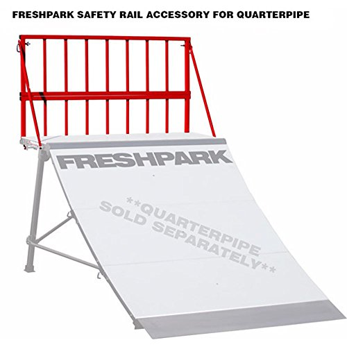 Freshpark Skate Ramps - FreshPark Safety Rail Red Large