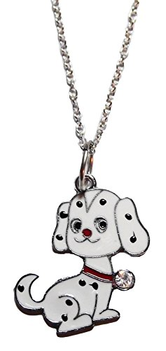 Disney's 101 Dalmatians Movie Dalmatian Puppy Metal/Enamel Pendant on 18
