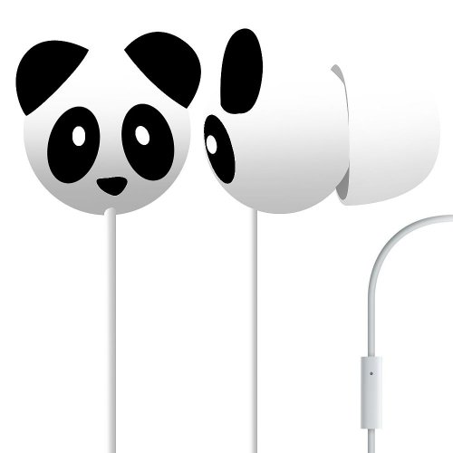 Pineapple Panda Mega Bass Earphones, Best Gadgets