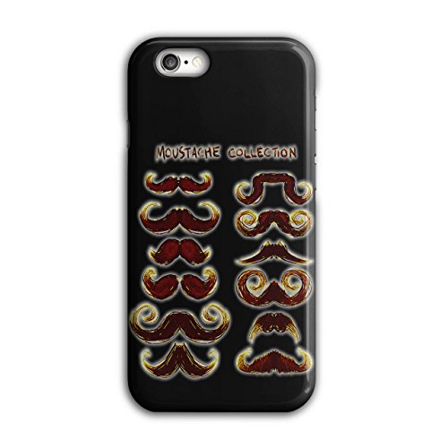 Moustache Stylish Fashion Hair Style iPhone 6 / 6S Case | Wellcoda (70s Hairstyles And Makeup)