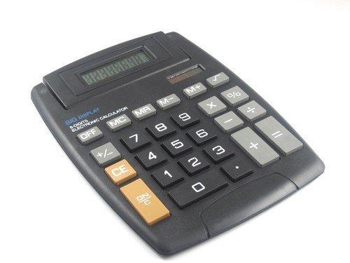 Calculator 8 Digit Big Display Large Button Adjustable LCD Screen 5.5 X 7.5 MegaDeal LYSB00E0OB1VO-ELECTRNCS