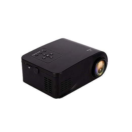 HUIIT Mini proyector de películas portátil 500 lúmenes, 800: 1 ...