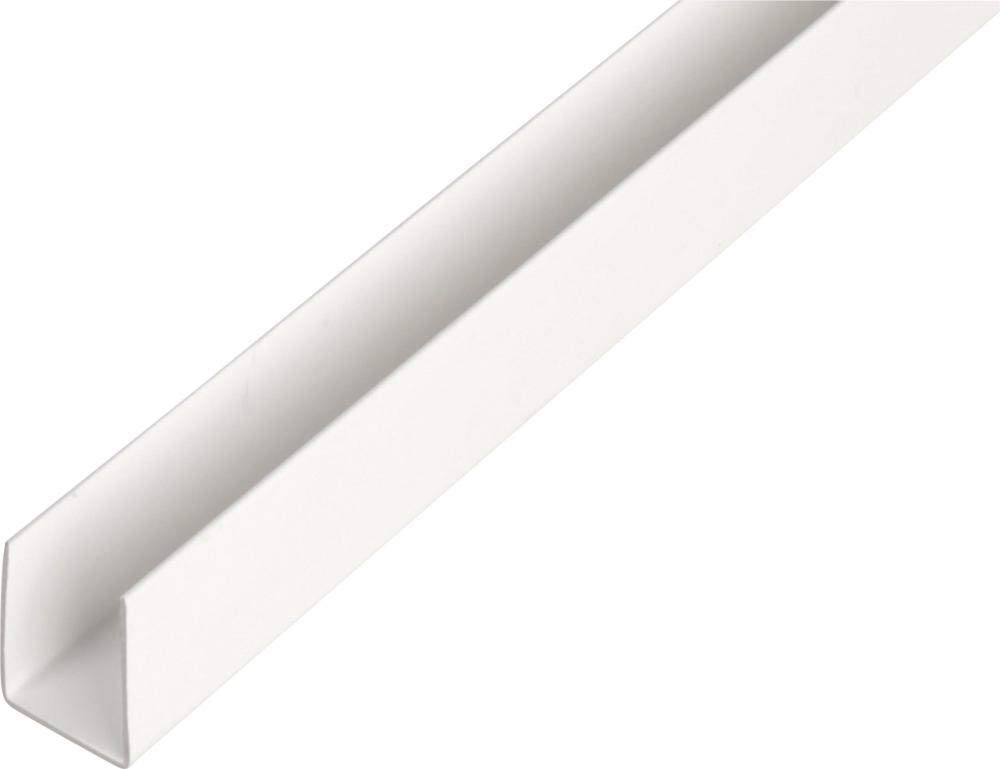Format 4004338484569/ /kunststoff-u-profil 2000//12/x 10/mm wei/ñ