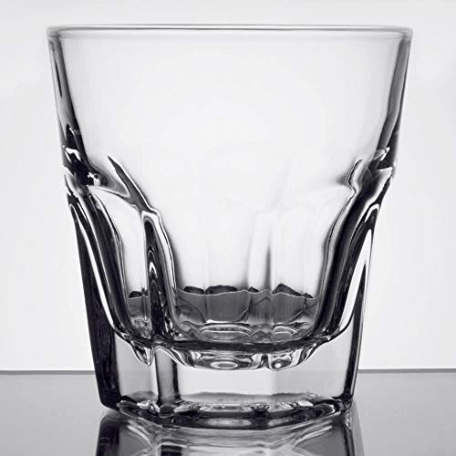 Libbey 15240 Gibraltar DuraTuff 8 oz Rocks Glass , SET OF 6 w/ FDL Party Picks ()